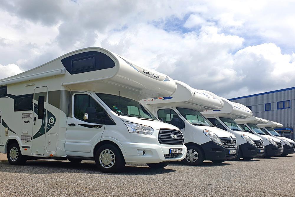 Unsere Wohnmobil-Flotte